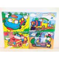 Mainan Edukasi Anak - Aneka Puzzle Kayu - Mainan Kayu Pintar Alphabet