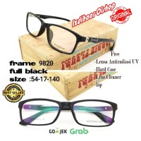 paket fream kacamata free lensa antiradiasi minus plus Porsche Designn