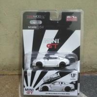 MINI GT LB WORKS NISSAN GTR R35 WHITE