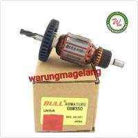 Armature angker BULL FOR GBM350 mesin bor besi 10mm BOSCH GBM 350