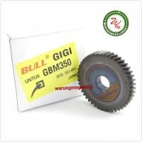 Gir gear BULL FOR gir GBM350 mesin bor besi 10mm BOSCH gear GBM 350