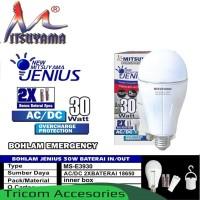 Lampu LED - Lampu Bohlam - Lampu Emergency 30Watt Mitsuyama