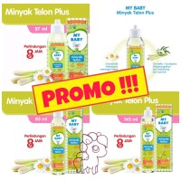 My Baby Minyak Telon Plus 8 jam 60ml
