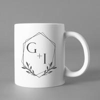Mug gelas wedding suvenir custom