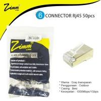 CONNECTOR RJ45 FTP CAT 6 ZIMM LINK 50pcs