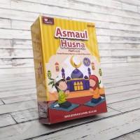 Flashcard Asmaul Husna - KONSEP Kartu Pintar Islam Mainan Edukasi Anak