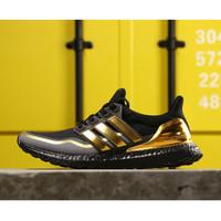 Sepatu Adidas Ultraboost Metalic Gold Real Boost PK