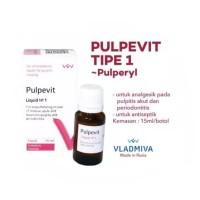 pulpevit no 1 / pulperyl / medikamen saraf gigi endodontic / obat endo