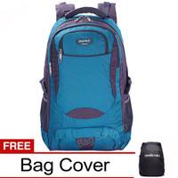 Real Polo Tas Ransel Kasual Jumbo/ XL Bonus Bag Cover