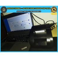 paket printer thermal dengan aplikasi kasir berbasis web siap pakai