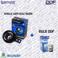 PAKET Single OEM Disc Horn ( OEM MC ) + BULB DDF