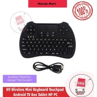 H9 Wireless Mini Keyboard Touchpad Android TV Box Tablet HP PC
