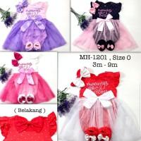 Baju Jumper Anak Bayi Perempuan Set Bandana Sepatu Mommy Princess