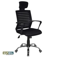 Ergonomic Mesh Chair Office - Kursi Kantor Kepala Sandaran C-88