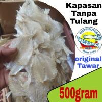 ikan asin kapasan tawar tanpa tulang-500gram