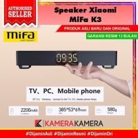 Mifa K3 Xiaomi TWS Bluetooth Speaker Stereo MI Mini TV Soundbar 5Wx2 - Hitam