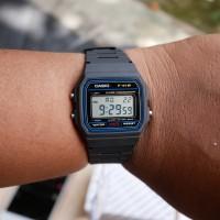Jam Tangan pria wanita casio f91w classic baru garansi 1tahun murah