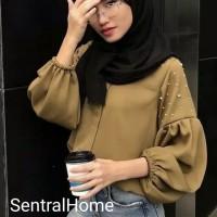 SH STOK DISKON CUCI GUDANG 301# atasan muslim fashion BUSUI FRIENDLY