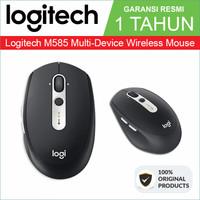 Mouse Logitech M585 Multi Device Wireless Mouse Original 100% Resmi