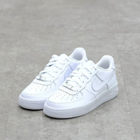 SEPATU NIKE AIR FORCE 1 LOW TRIPLE WHITE 100% U.A ORIGINAL