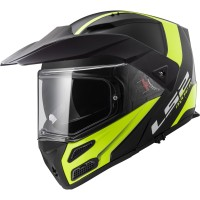 HELM LS2 FF324 METRO EVO RAPID MATT BLACK H.V YELLOW | HELM MODULAR