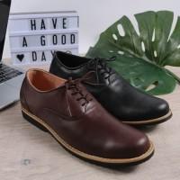 Sepatu Pria Kulit asli Sepatu Kerja Sepatu Pantofel ( Boston Swansea)