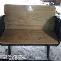 kursi drum dudukan kayu