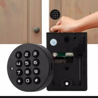 🔐🔴Password Circle Door Lock For Cabinet Locker Smart Home System