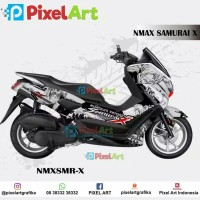 STICKER DECAL MOTOR YAMAHA NMAX SAMURAI X FULL BODY PREMIUM QUALITY