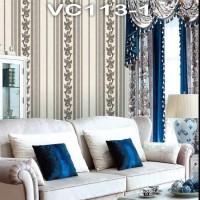 Wallpaper Dinding Classic Garis VICTORY VC113-1 - VC113-5