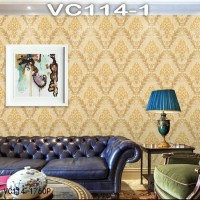 Wallpaper Dinding Classic Damask VICTORY VC114-1 - 114-5