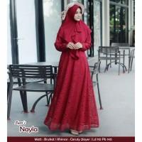 Gamis Nayla burkat original