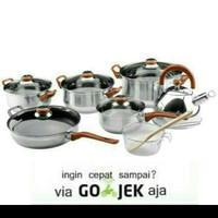 Panci Set Oxone -Eco Cookware Set 12+2 pcs ( OX-933)