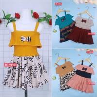 Dress Alinka uk 1-2 tahun / Dress Pesta Anak Perempuan Gaun Polos