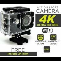 Kamera Sport Action Camera 4K Ultra HD GoPro with wifi Kogan sport cam