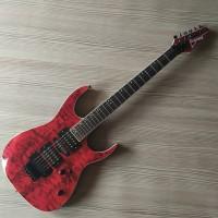 Gitar Listrik Ibanez Premium Merah