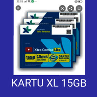 KARTU XL 15GB
