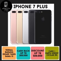IPHONE 7+ 128GB ALL COLOUR SECOND ORIGINAL