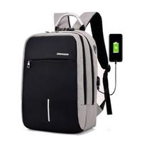 Free Headset Tas Ransel Laptop Anti Maling USB Charger