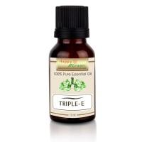 Happy Green Triple E Essential Oil 10 ml- Minyak Pelega pernapasan