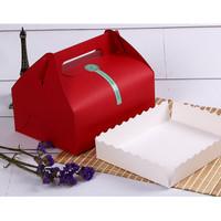 Box Merah Kotak Hampers Hadiah Sovenir Natal / Valentine / Imlek