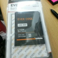 Baterai Evercros U50A Max/2350mAh/original/batre