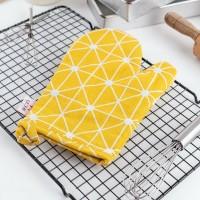 UCHII Oven Glove Mitt | Sarung Tangan Dapur Anak Anti Panas Yellow