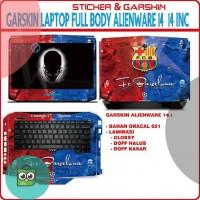 Garskin Laptop Alienware 14 motif Barca - free custom motif