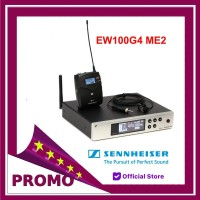 Mic Wireless Sennheiser audio EW100 G4 ME2 Clip On Original
