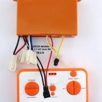 receiver box 12V mobil aki plus remote XHZ orange receiver bluetoot