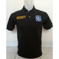 Seragam Security Pria Grosir Kaos Kerah Security Murah I Polo Shirt