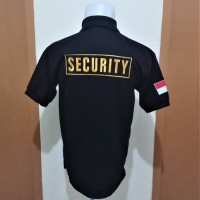 Seragam Security Pria KAOS KERAH SECURITY - POLO SHIRT SECURITY