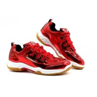 Sepatu Badminton APACS CP-600 CP 600 Red Original