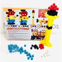 Mainan Edukasi Blocks Bricks 216 PCS - Balok Susun - Block Lego Block